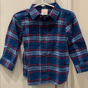 New jumping Bean 18 month flannel
